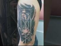 Перекрытие старой татуировки. Cover-up. Татуировки в Гомеле